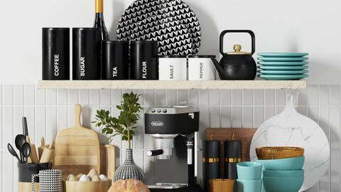 kitchen  shelf decorative 002
