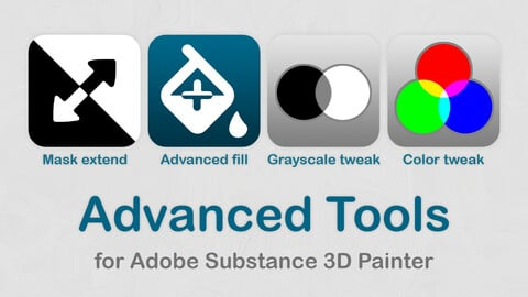 Advanced Tools for Adobe Substance 3D Painter