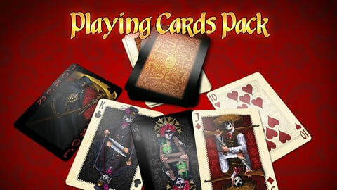 Styled Playing Cards Deck