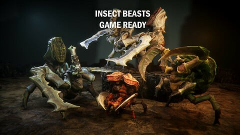 Insect beast