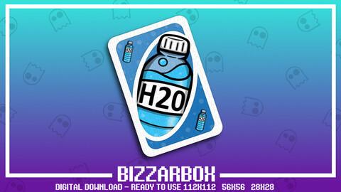 Twitch Emote: Hydrate Card