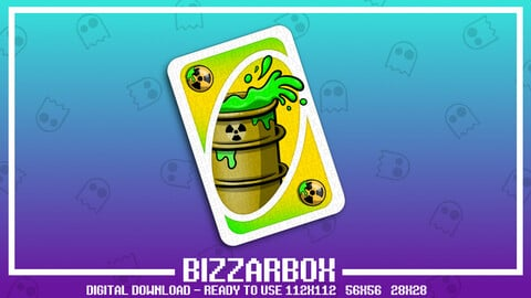 Twitch Emote: Toxic Card