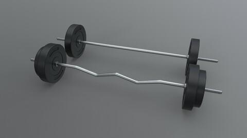 PBR Adjustable Barbell Set A1