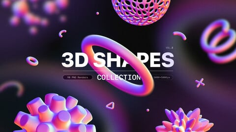 3D Shapes collection