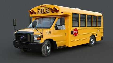 Ford E-Series School bus Type A