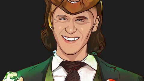 Loki cartoon