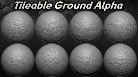 20 Amazing  Tileable  Ground Alpha ( Seamless )