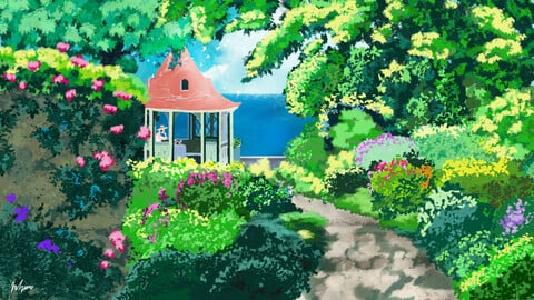 Ghibli inspired fan art (3 in 1)