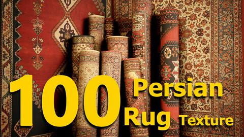 100 Persian Rug - PBR texture