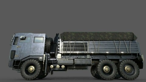 Indian Army Military Truck