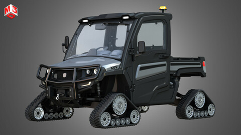 JD - XUV865M Crossover Utility Vehicle with Tracks