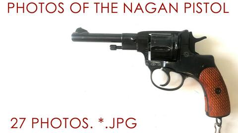 photos of the Nagan pistol