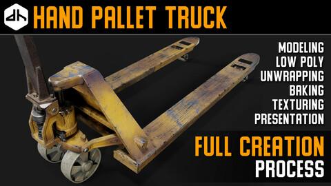 Hand Pallet Truck Full Creation Process