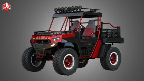 The Beast 1000 vehicle