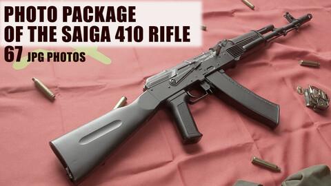пакет фотографии винтовки САЙГА 410K