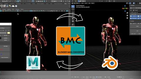 Blender Maya Converter (Bmc) 1.0
