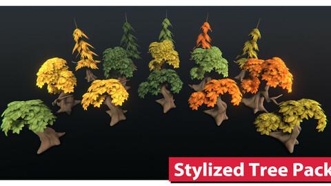 Stylized Tree Asset Pack