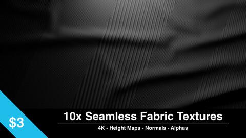 10x Seamless Fabric Textures