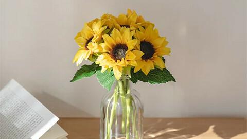 Sunflower artificial flower