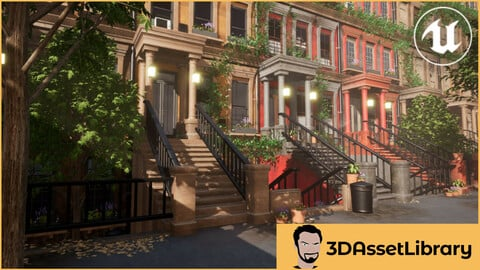 Modular Buildings Vol 1 For Unreal Engine