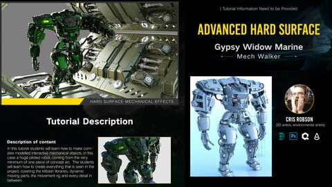 Battle Machines - A 3ds Max Masterclass by Cris Robson