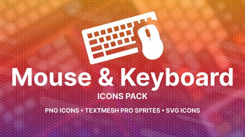Mouse & Keyboard Icons Pack