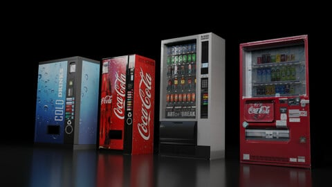 Vending Machine Collection- Pack of 4