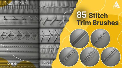 85 House Stitch Trim Brush