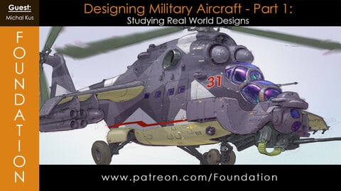 Foundation Art Group - Designing Military Aircraft Part 1 with Michal Kus