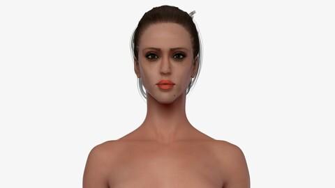Nude Female 3d
