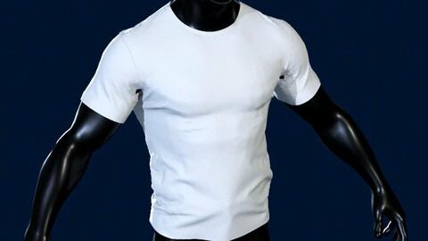 T-shirt in  Marvelous Designer
