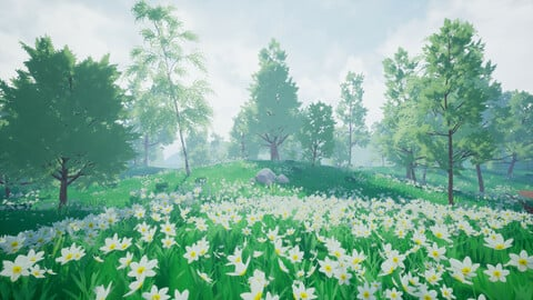Stylized Meadow in Unreal Engine 4