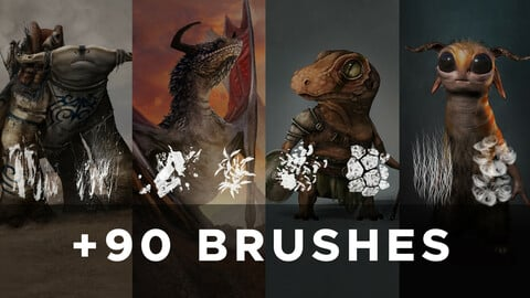 COMPLETE BRUSH PACK (By Thibarriz)