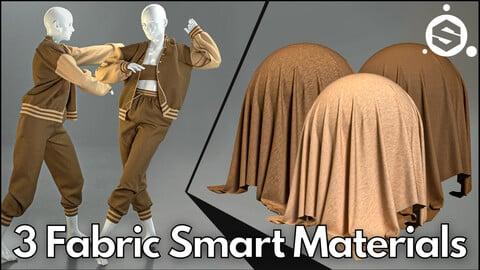 3 Fabric smart material : Oversized bomber jacket