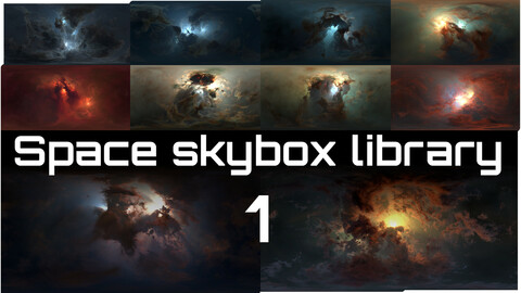 Space Skybox Library 1