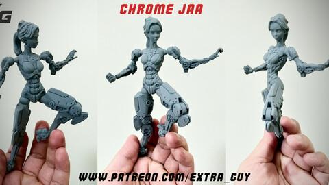 Chrome Jaa 3D print Over 100mm