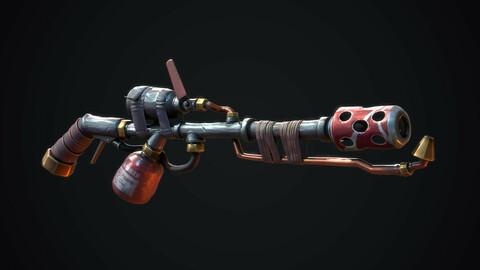 Stylized Flamethrower (3D MODEL)