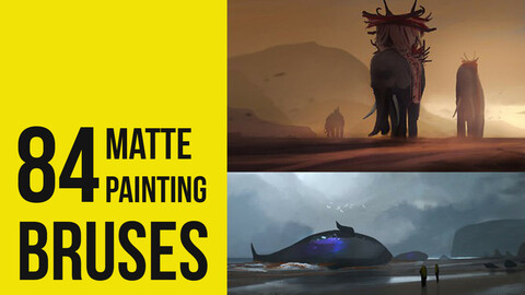 84 Matte Painting - Brushes for Photoshop