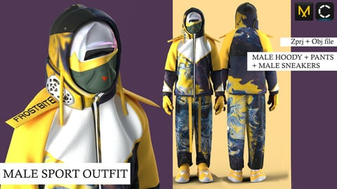 MALE SPORT OUTFIT