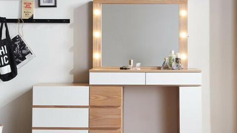 Velita 1000 Sliding Cabinet Light Bulb LED Mirror Dressing Table