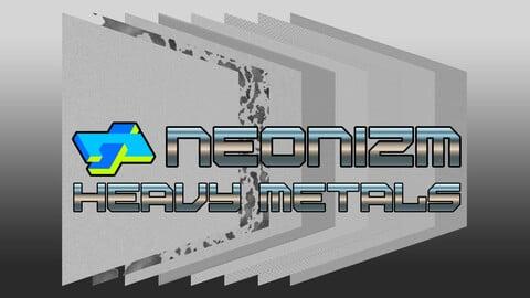 Neonizm Metal Textures for iRacing
