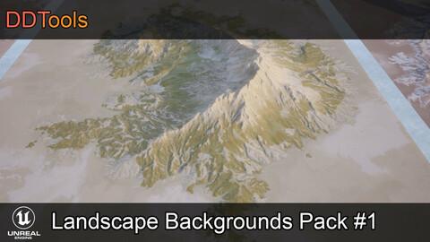 DDTools - Landscape backgrounds pack #1 for Unreal Engine