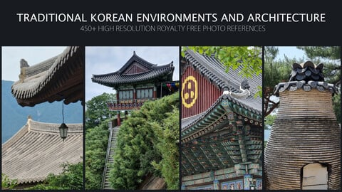 Traditional Korean Environments and Architecture - 450+ High-Resolution Royalty Free Photo References