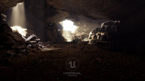 Unreal 5 Project Game Level Vol 2