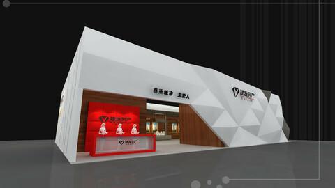 Exhibition - size - 20X12-3DMAX2009-0011