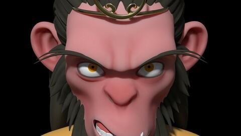 Game model monkey