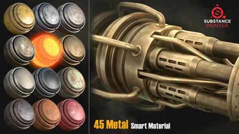 45 metal smart material