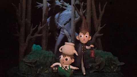 Over The Garden Wall - Done for 3D print
