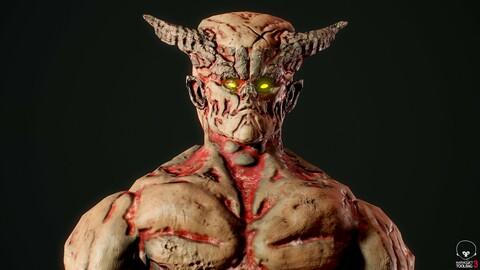 Monster Mutant 5 Low-poly 3D model