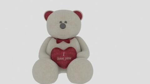 Bear ILU toy